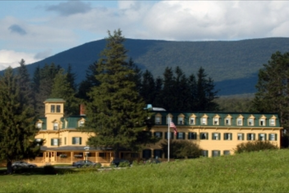 The beautiful Bread Loaf Orion Writers Conference campus where Dede and Robin will give a presentation this summer!