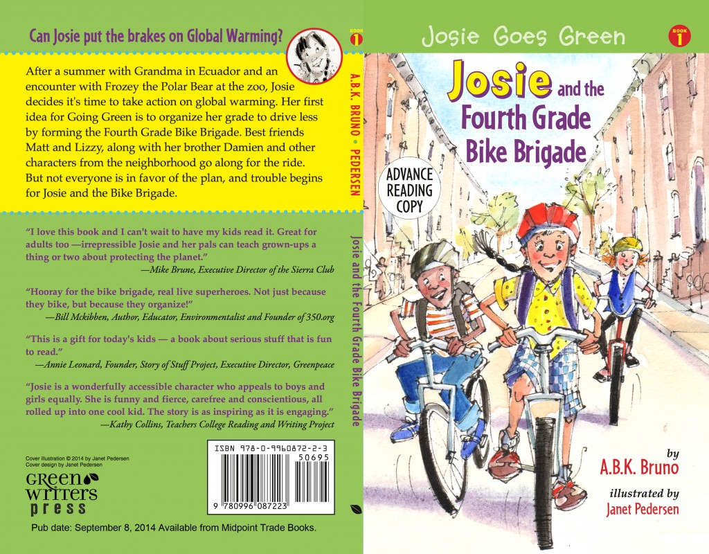 Josie Bike Brigade Cover (ARC)