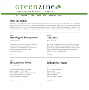 GreenZine Layout