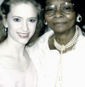 Vermont author Leslie Rivver and her best friend, growing up, Ida Bell in Alabama 20 years ago.